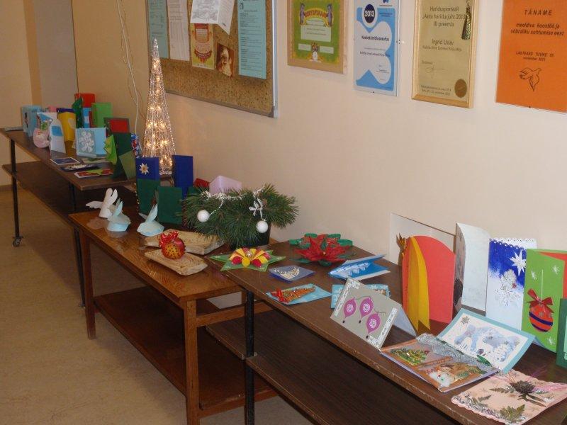 Näitus jõulukaardid 2014.a. detsember 008